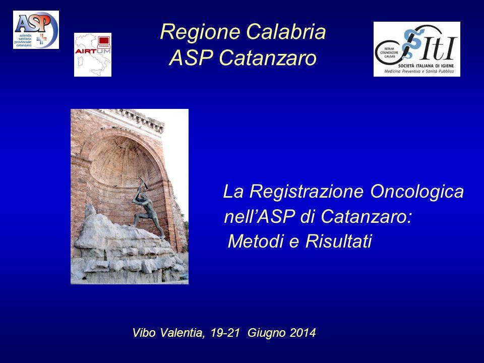 Regione Calabria ASP Catanzaro