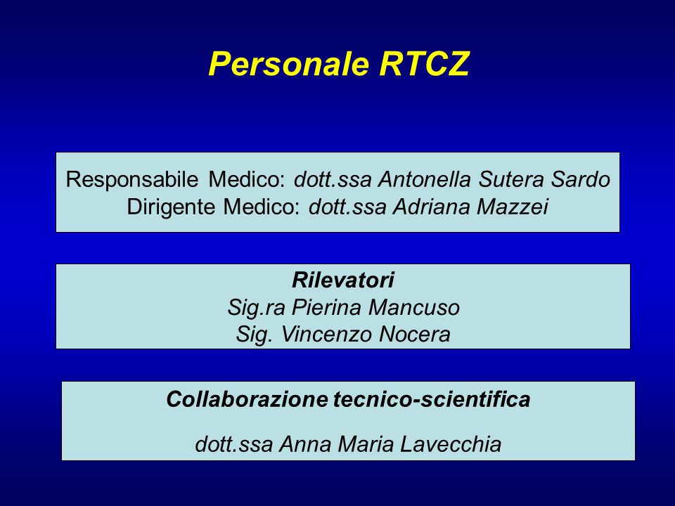 Collaborazione tecnico-scientifica
