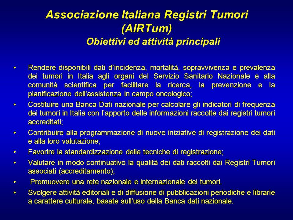 Associazione Italiana Registri Tumori (AIRTum)