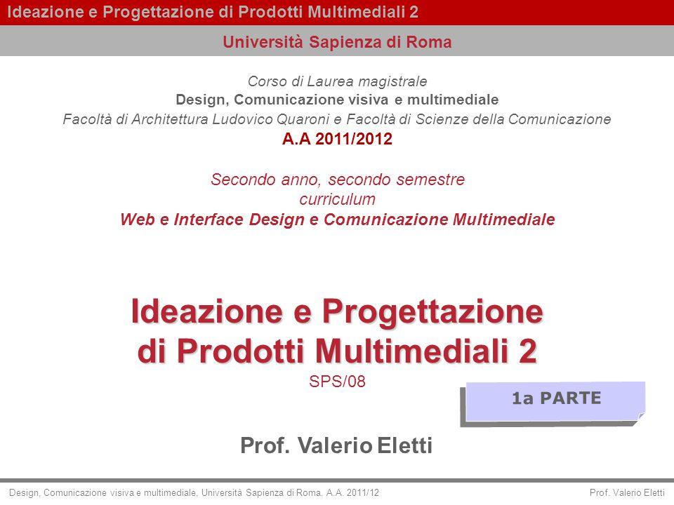 Ideazione e Progettazione di Prodotti Multimediali 2