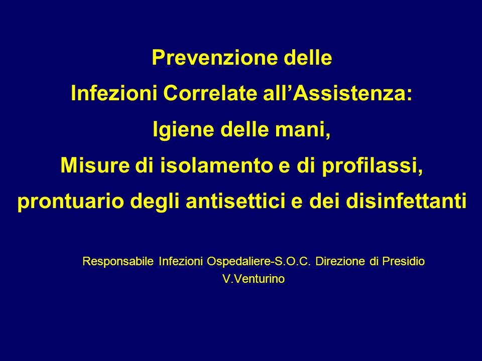 Responsabile Infezioni Ospedaliere-S.O.C. Direzione di Presidio