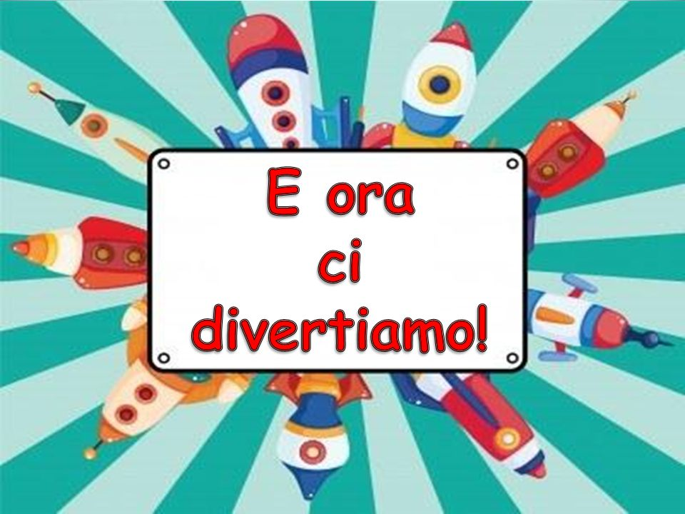 E ora ci divertiamo!