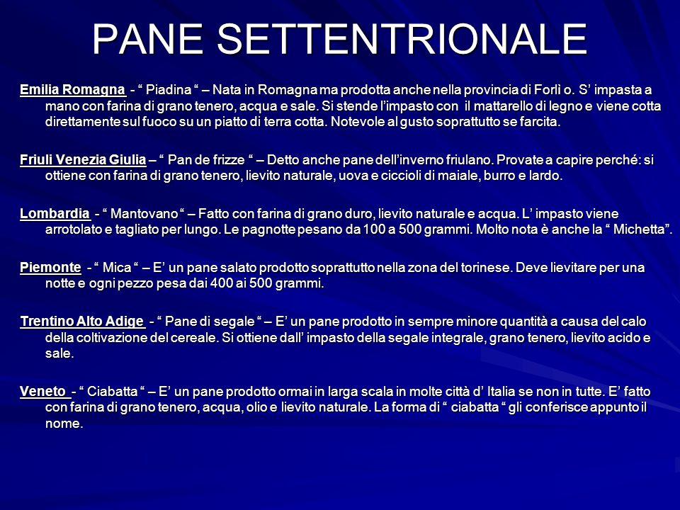 PANE SETTENTRIONALE