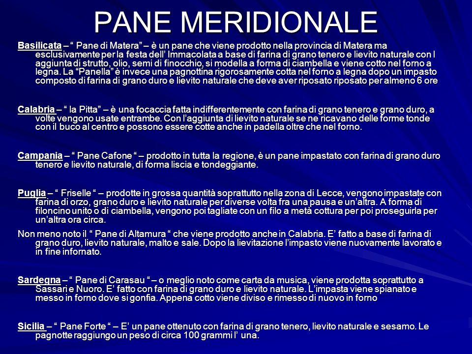 PANE MERIDIONALE
