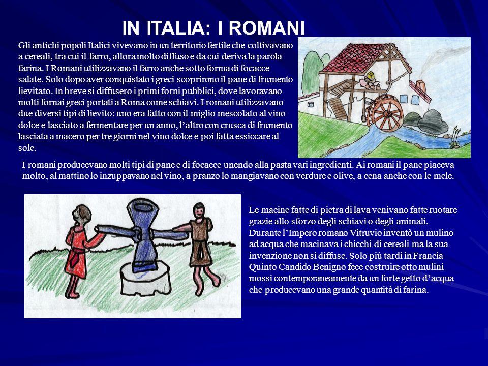 IN ITALIA: I ROMANI