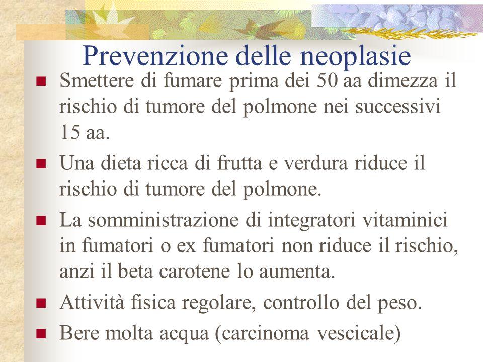 Prevenzione delle neoplasie