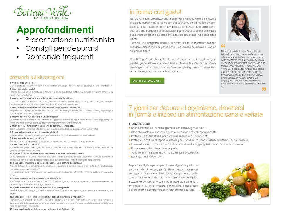Approfondimenti Presentazione nutrizionista Consigli per depurarsi