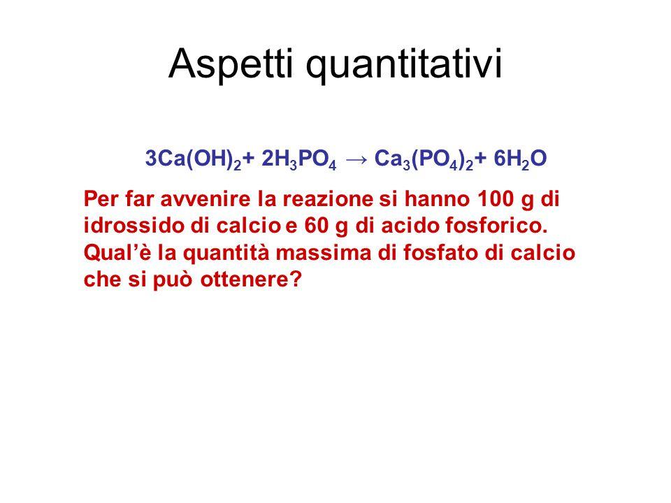 3Ca(OH)2+ 2H3PO4 → Ca3(PO4)2+ 6H2O