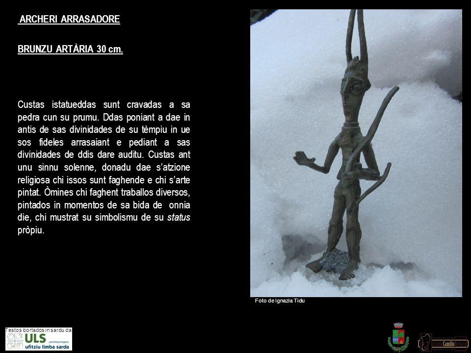 ARCHERI ARRASADORE BRUNZU ARTÀRIA 30 cm.