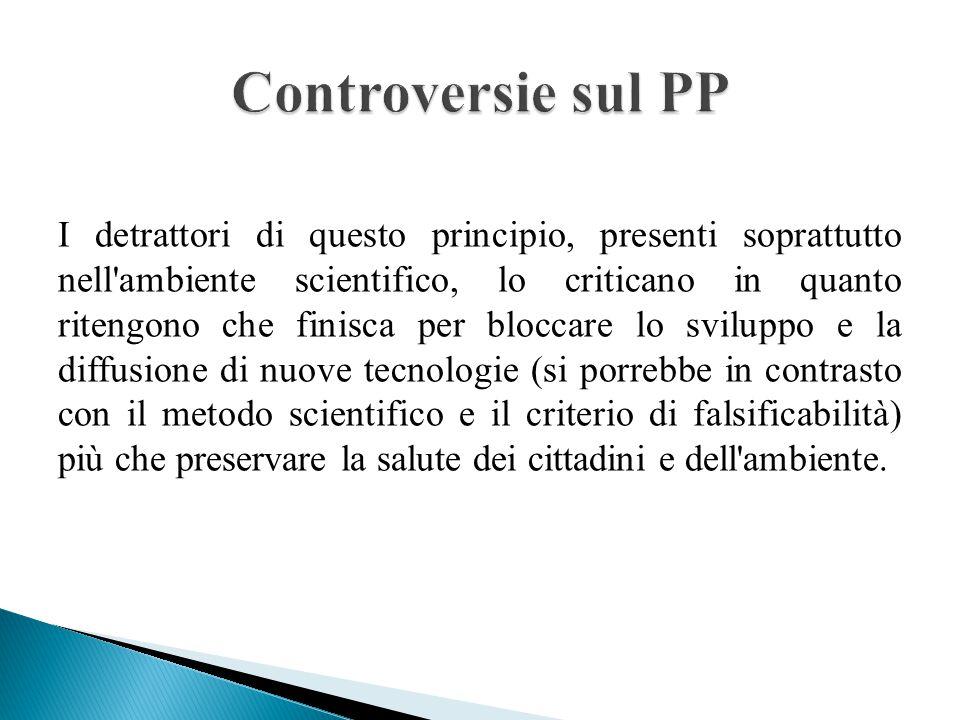 Controversie sul PP