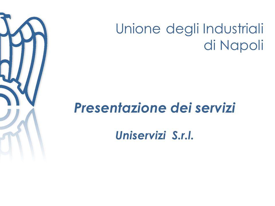 Presentazione dei servizi