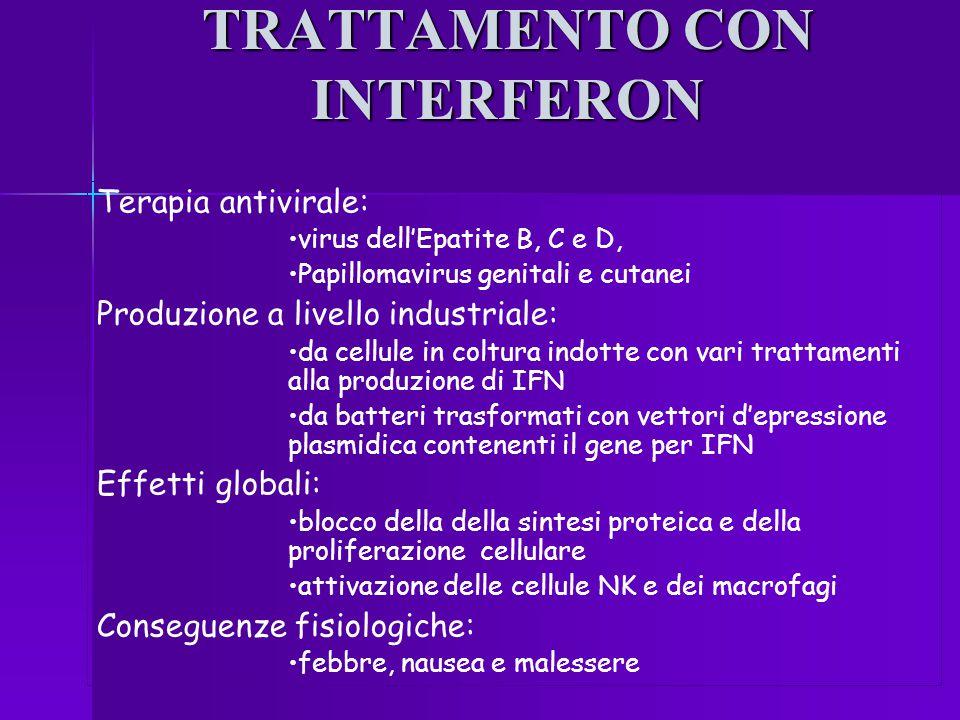 TRATTAMENTO CON INTERFERON
