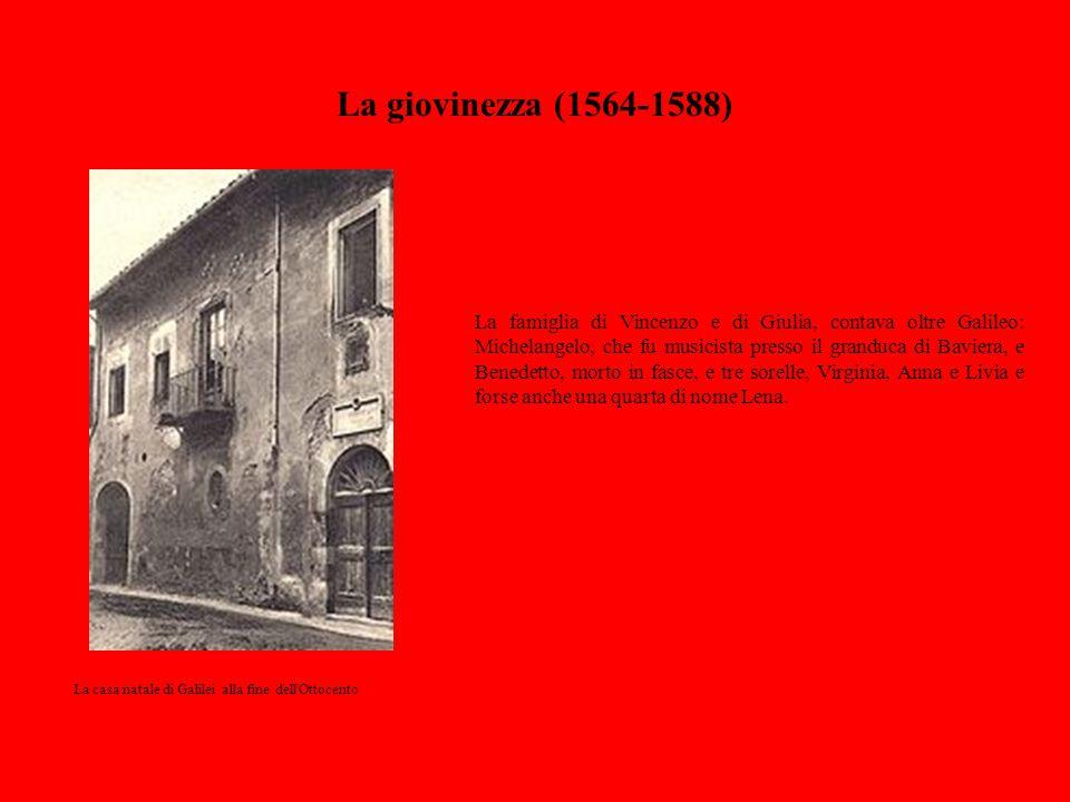 La giovinezza (1564-1588)