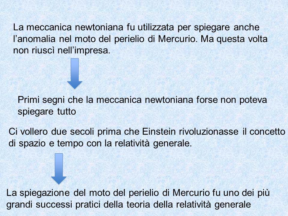 La meccanica newtoniana fu utilizzata per spiegare anche