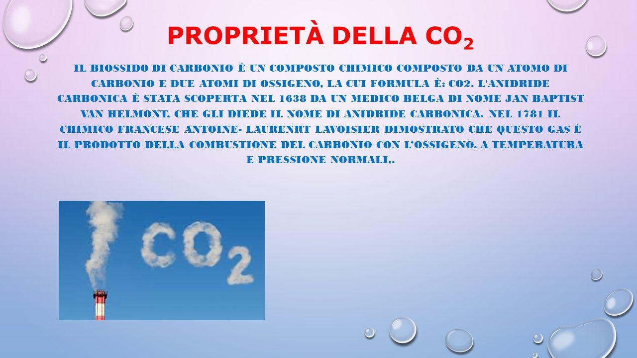 proprietà della CO2