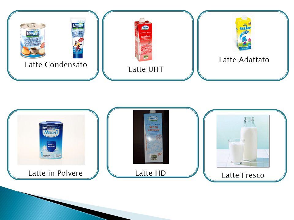 Latte Adattato Latte Condensato Latte UHT Latte in Polvere Latte HD Latte Fresco