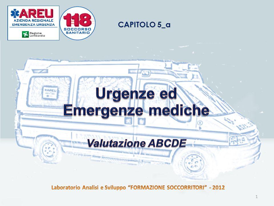 Urgenze ed Emergenze mediche