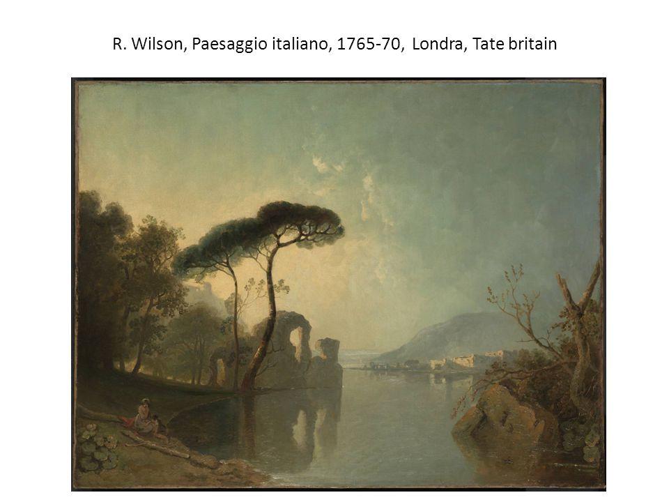 R. Wilson, Paesaggio italiano, 1765-70, Londra, Tate britain