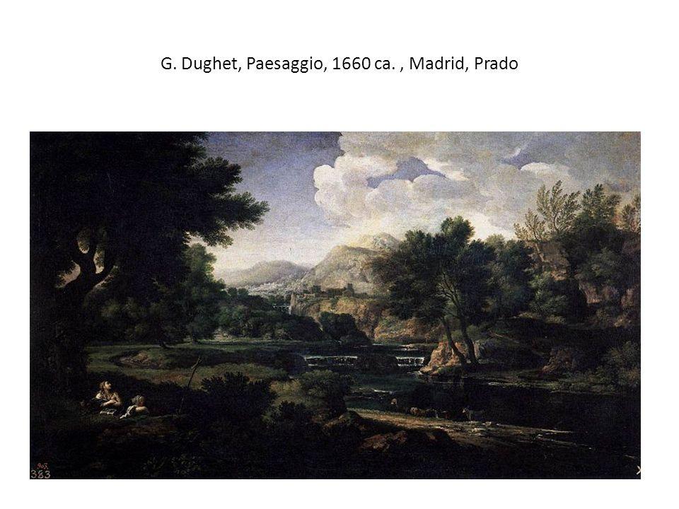 G. Dughet, Paesaggio, 1660 ca. , Madrid, Prado