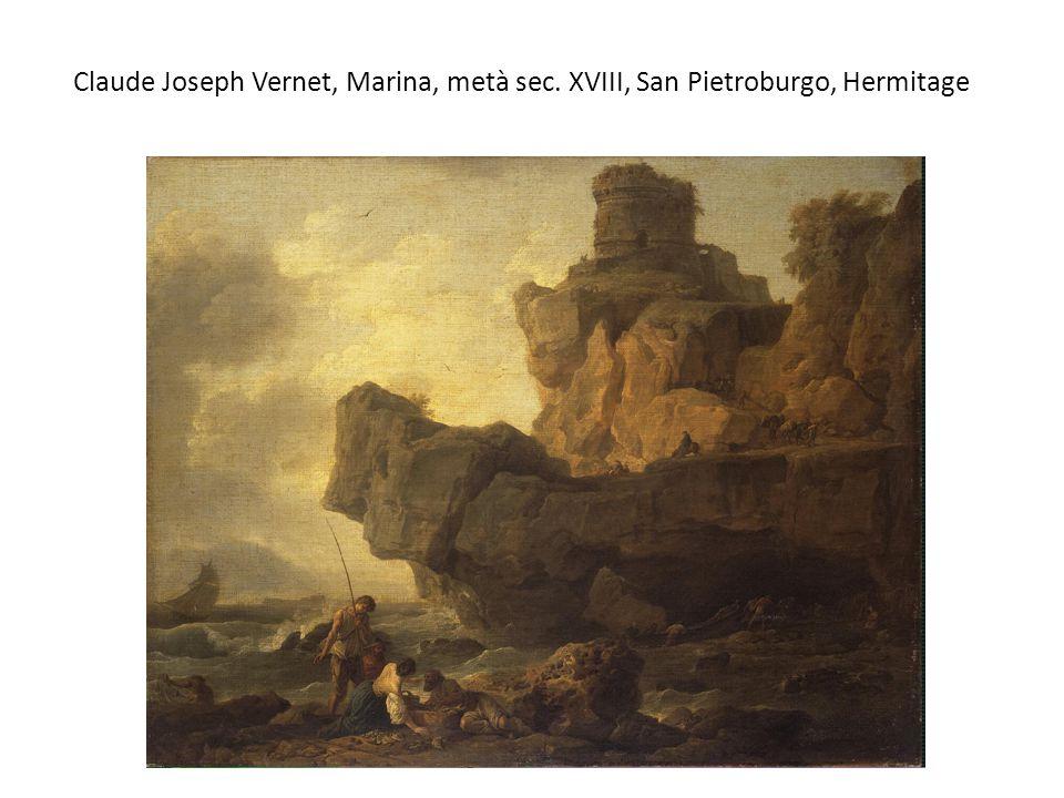 Claude Joseph Vernet, Marina, metà sec