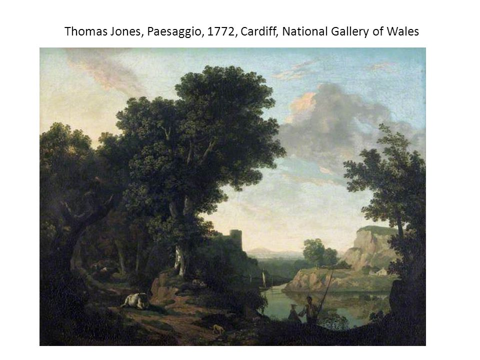 Thomas Jones, Paesaggio, 1772, Cardiff, National Gallery of Wales