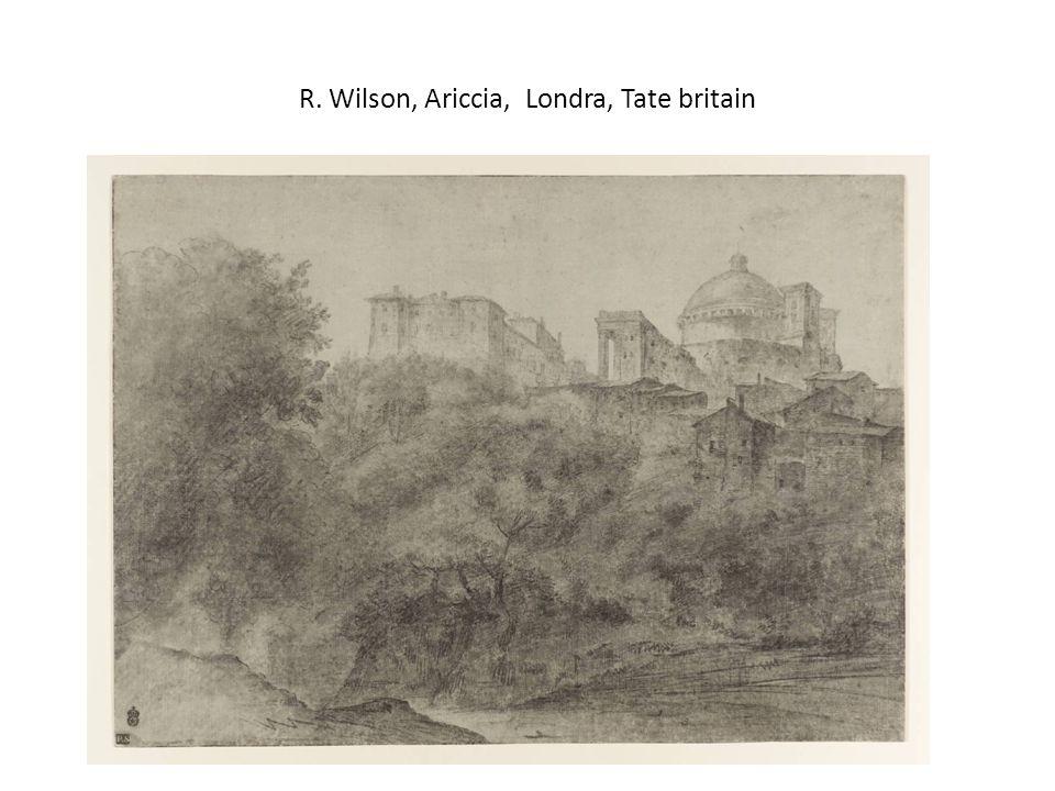 R. Wilson, Ariccia, Londra, Tate britain