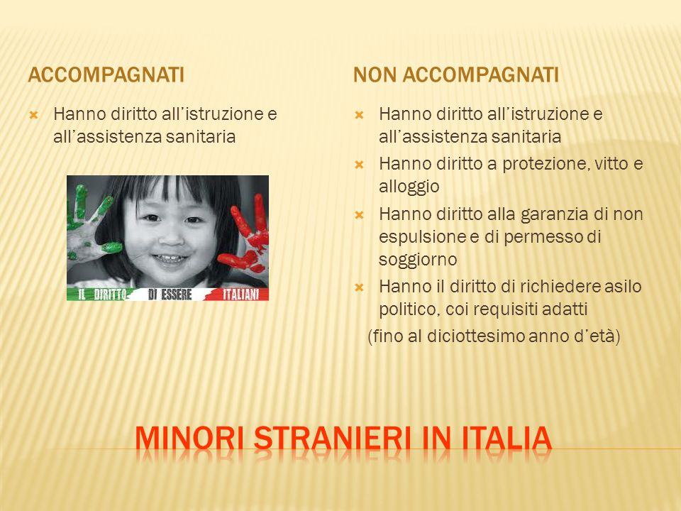 Minori stranieri in Italia