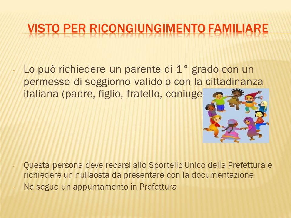 Stunning Carta Di Soggiorno Coniuge Cittadino Italiano Contemporary ...