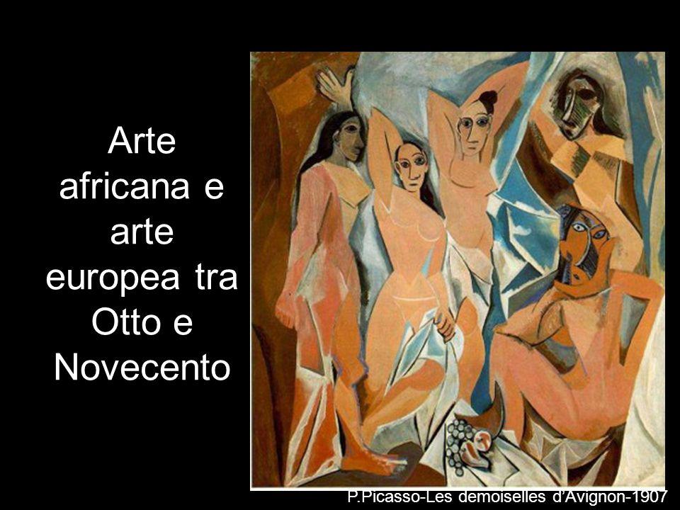Arte africana e arte europea tra Otto e Novecento
