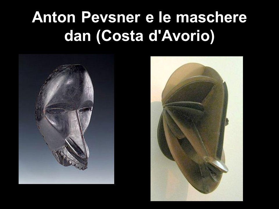 Anton Pevsner e le maschere dan (Costa d Avorio)