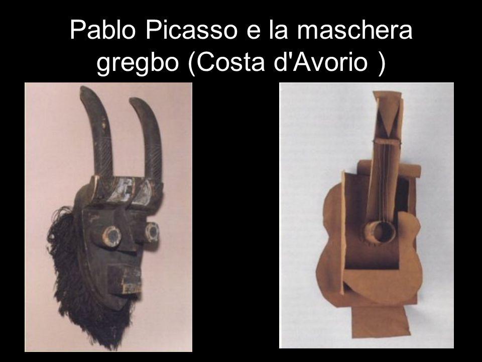 Pablo Picasso e la maschera gregbo (Costa d Avorio )
