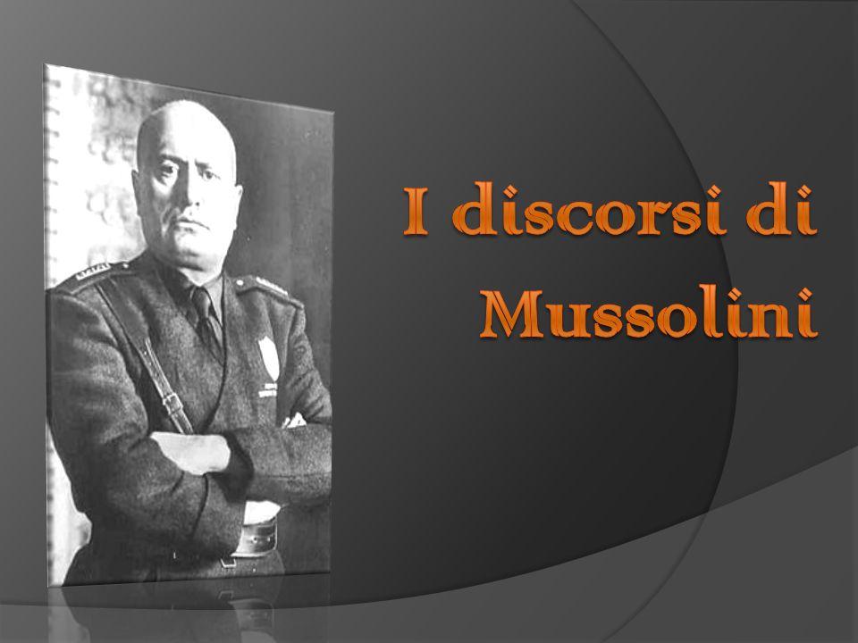 Discorso Camera Mussolini : Il discorso del duce alla camera dei deputati sulla solidità dell