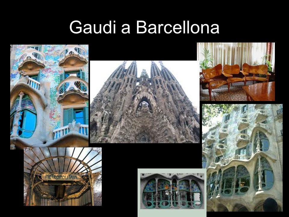 Gaudi a Barcellona