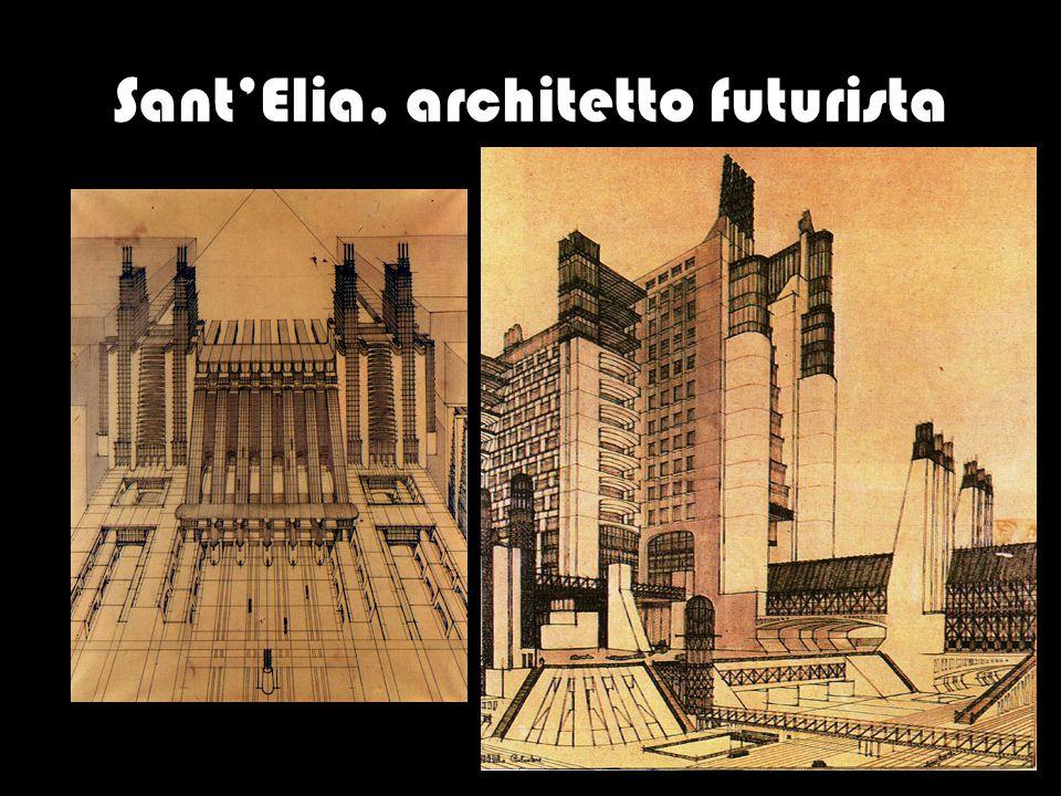 Sant'Elia, architetto futurista