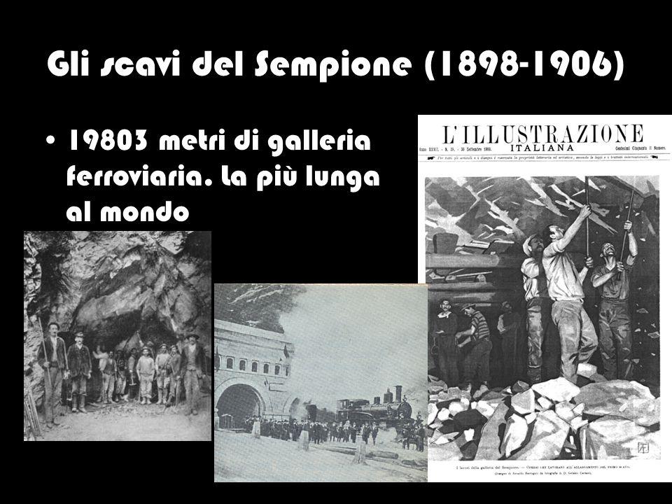 Gli scavi del Sempione (1898-1906)