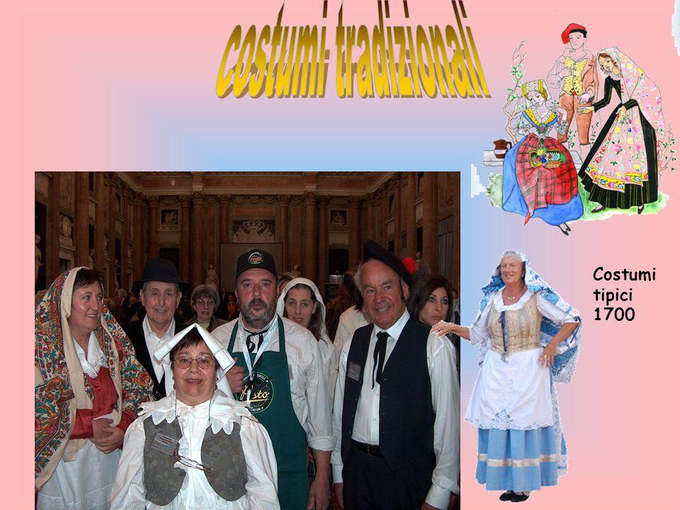 costumi tradizionali Costumi tipici 1700
