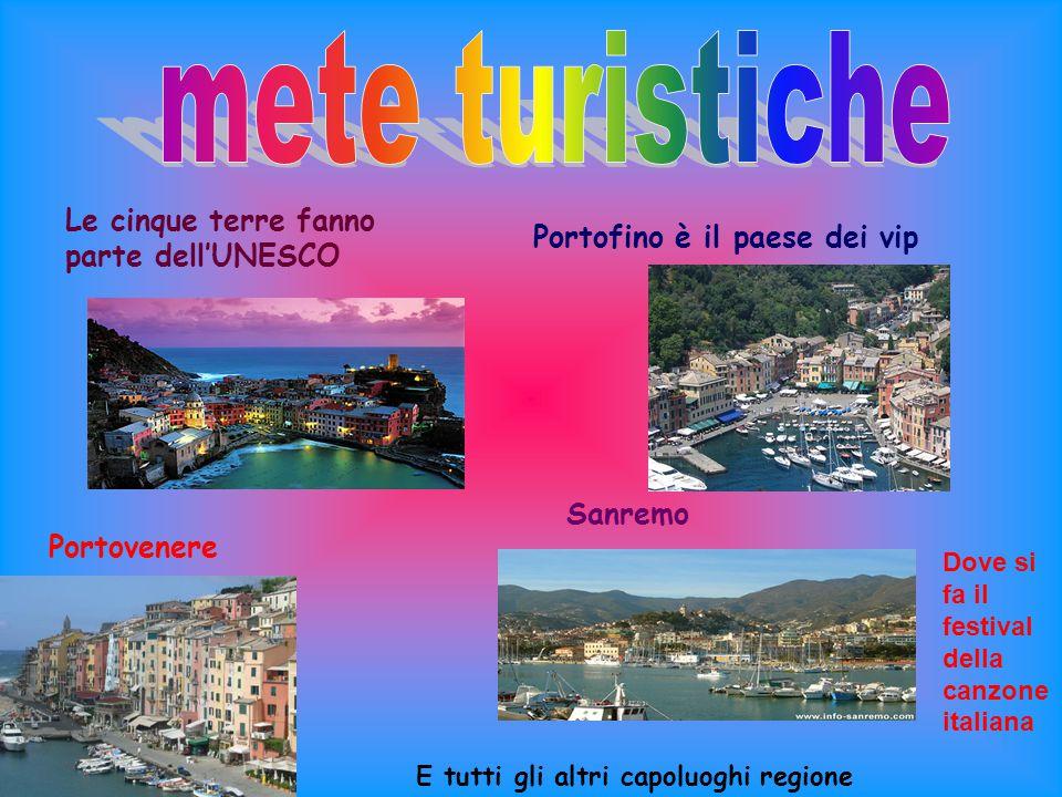 mete turistiche Le cinque terre fanno parte dell'UNESCO