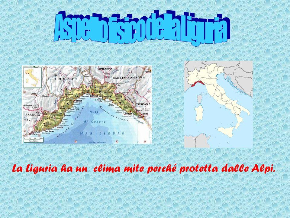 Aspetto fisico della Liguria
