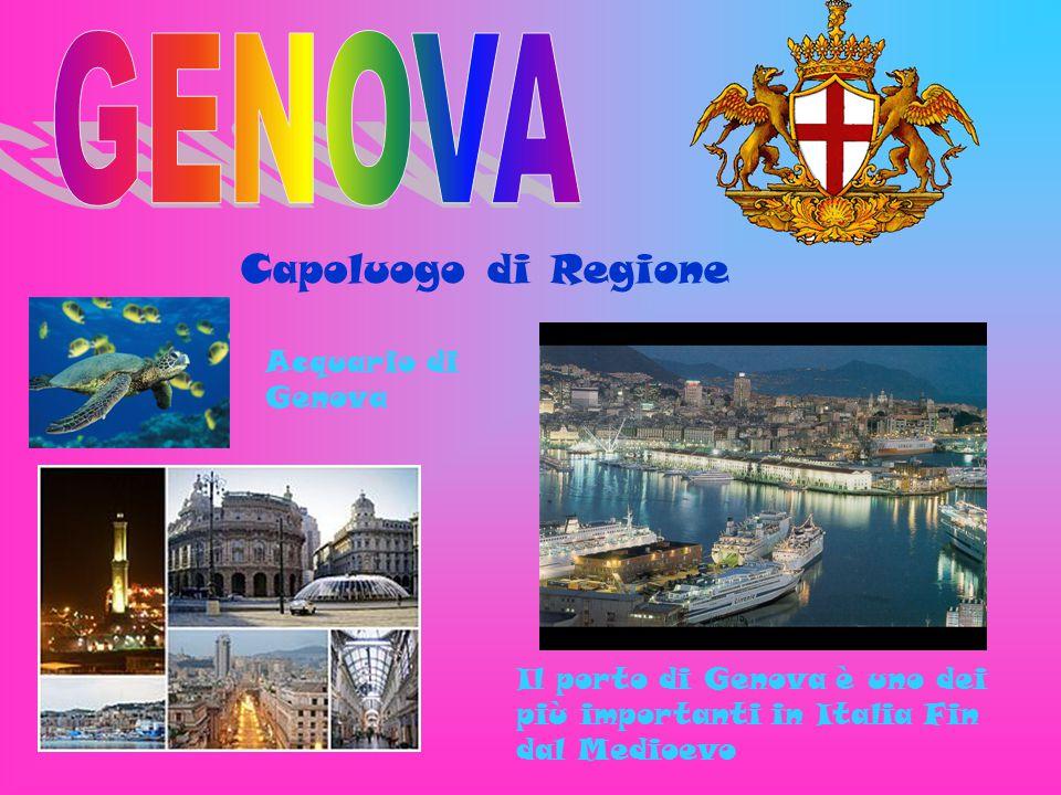 GENOVA Capoluogo di Regione Acquario di Genova