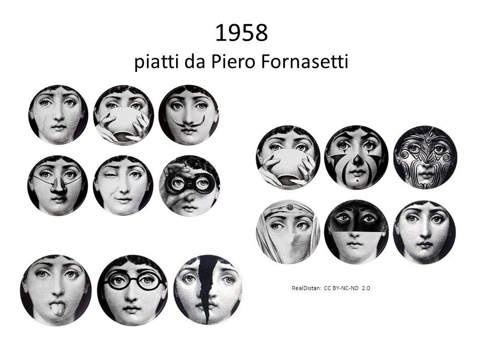 1958 piatti da Piero Fornasetti