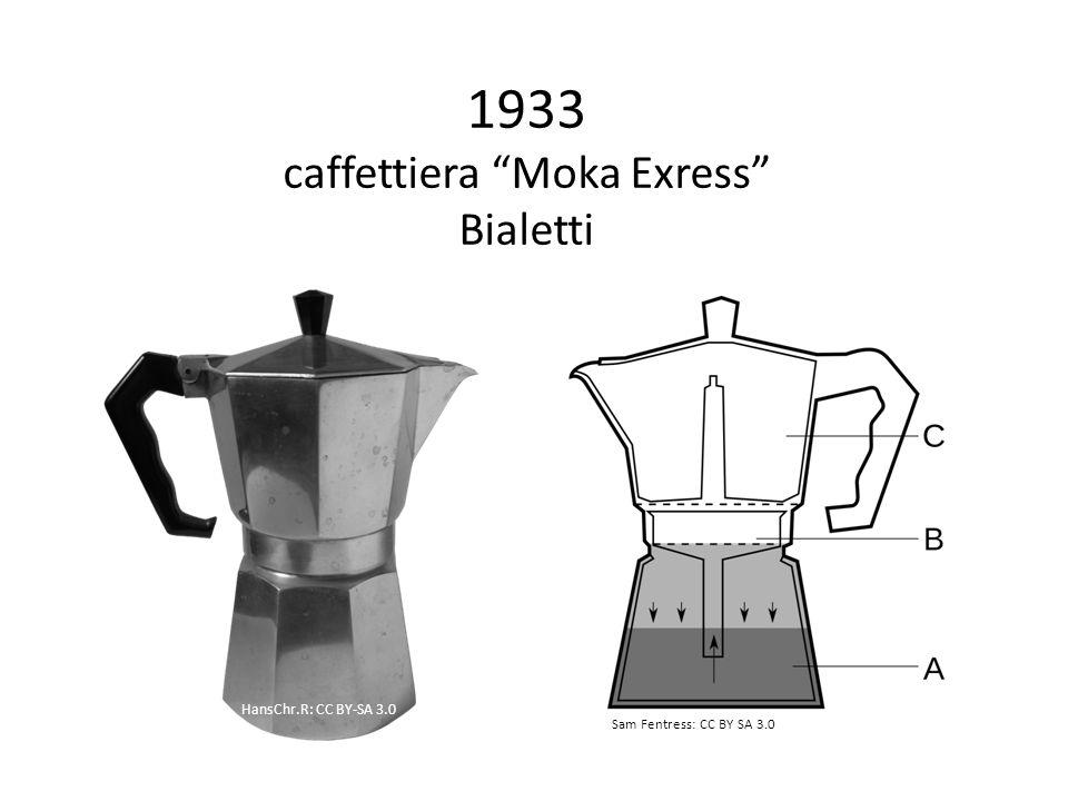 1933 caffettiera Moka Exress Bialetti