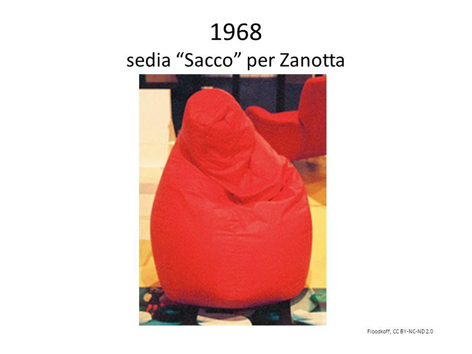 1968 sedia Sacco per Zanotta