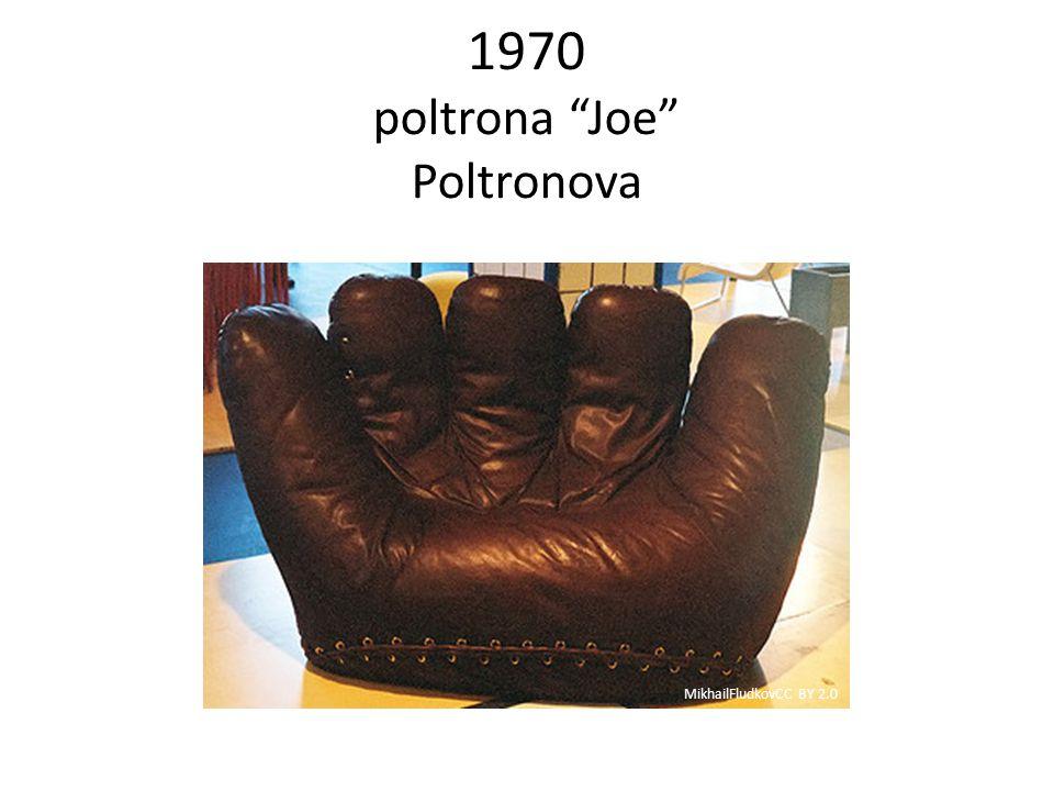 1970 poltrona Joe Poltronova