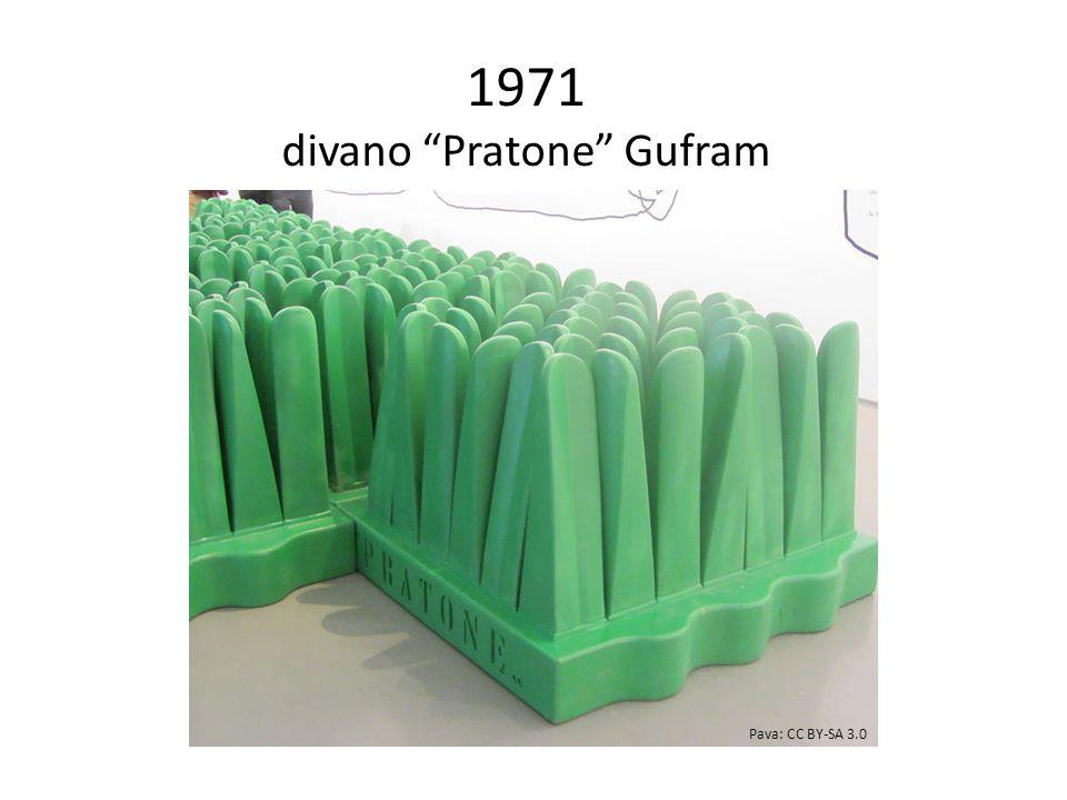 1971 divano Pratone Gufram