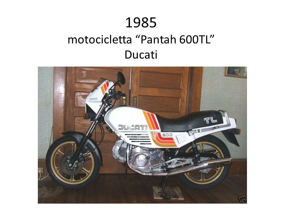 1985 motocicletta Pantah 600TL Ducati