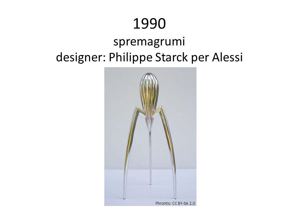 1990 spremagrumi designer: Philippe Starck per Alessi