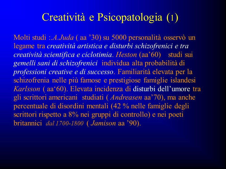 Creatività e Psicopatologia (1)