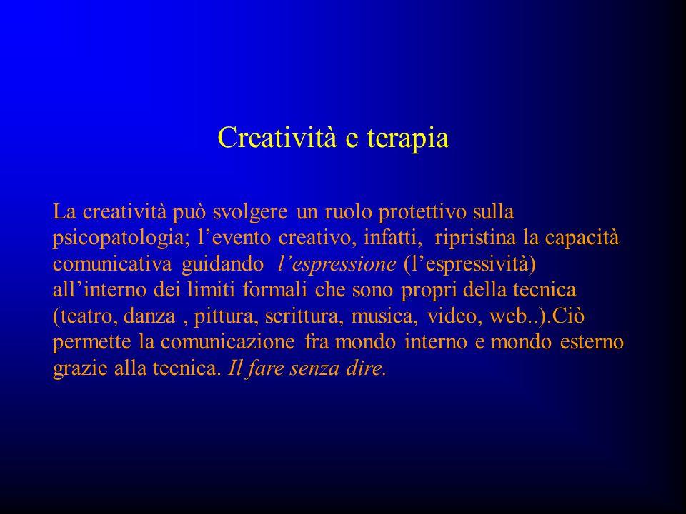Creatività e terapia