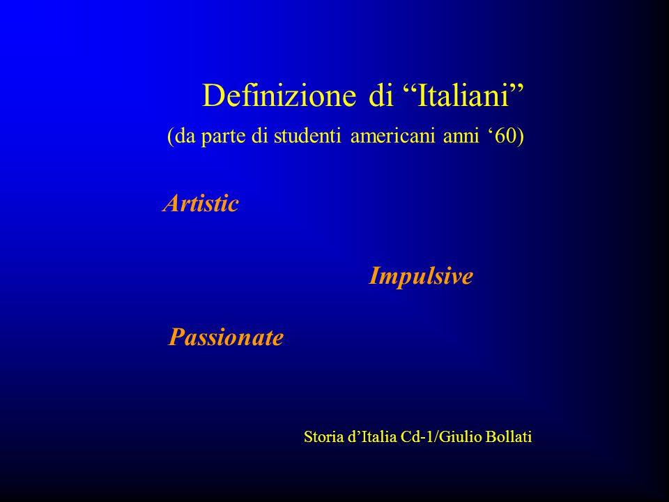 Definizione di Italiani