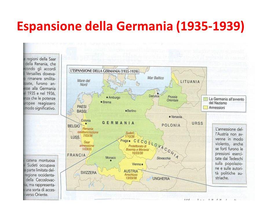 Espansione della Germania (1935-1939)